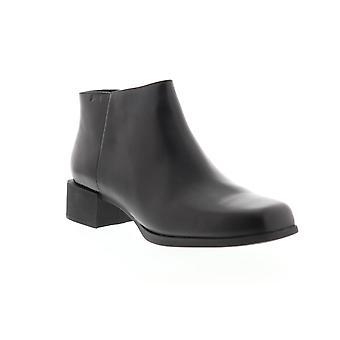 Camper Kobo  Womens Black Leather Zipper Casual Dress Boots