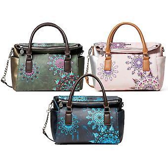 Desigual Women's Luna Rock Loverty Mini Galactic Mandala Cross Body / Handbag