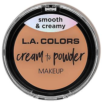 L.A. Colors Cream Foundation Cream to Powder Shell