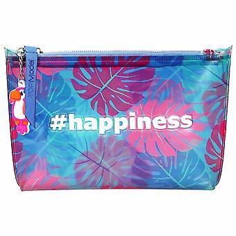 Depesche 10429 Cosmetic Bag Topmodel Tropical Blue