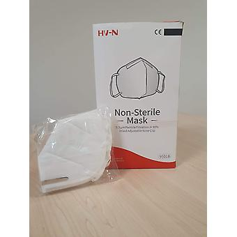 HV-N - mouth mask 5 layers of bershield (KN95, FFP2) 80 pieces