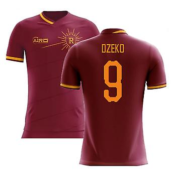 2020-2021 Roma Home Concept Football Shirt (DZEKO 9)