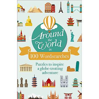 Around the World in 100 Wordsearches by Eric Saunders