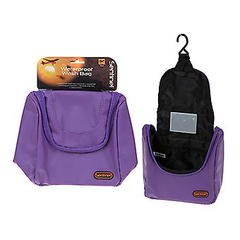 Summit Sentinel Waterproof Travel Wash Bag - Paars