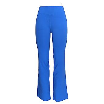 Denim & Co. Women's Duo-Stretch Slightly Boot Cut Pants Blue A261851