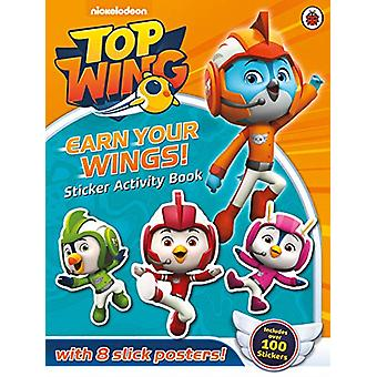 Top Wing - Earn Your Wings! - Sticker Activity Book by Top Wing - 97802