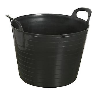 Sealey Sft40B Heavy-Duty Flexi Tub 40Ltr - Black