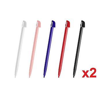 10x Wii U Colour Touch Stylus Pen Wii Sztywny plastik - Nintendo