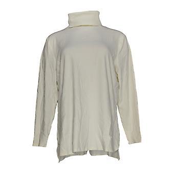 Isaac Mizrahi En direct! Femmes-apos;s Sweater w/ Turtle Neckline Blanc A372782