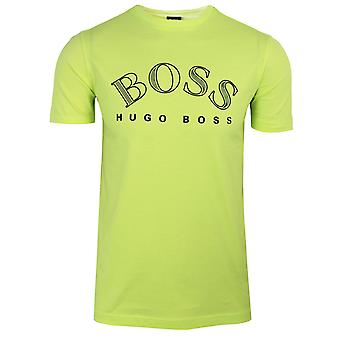 Hugo boss tee 1 men's fluorescent green t-shirt