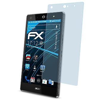 atFoliX 3x Screen Protection Film compatible with Acer Liquid X2 Screen Protector matt&shockproof