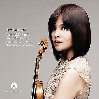 Nielsen / Korngold / Lee - Violin Concertos [CD] USA import