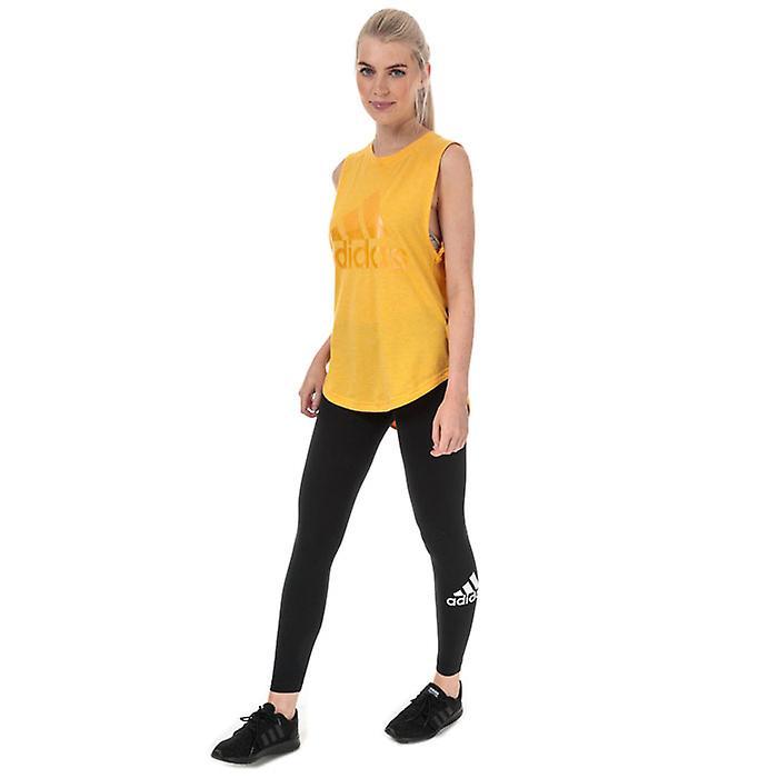 Kvinner&s Adidas Må Ha Merke Av Sport Leggings I Svart