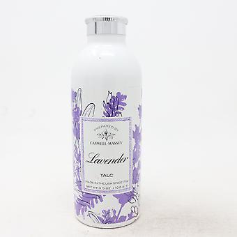 Caswell-Massey Lavender Talc  3.5oz/100g New
