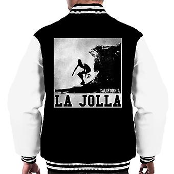 London Banter La Jolla surf Men ' s Varsity Jacket