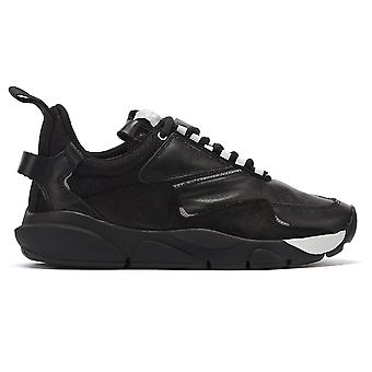 Clear Weather Aries Mens Nocturnal Black Trainers