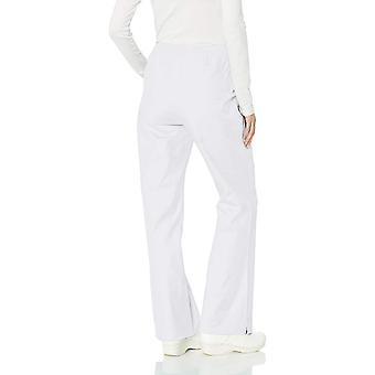 Essentials Women's Quick-Dry Stretch Scrub Pant, Blanco, Grande