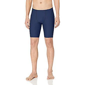 Essentials Men's Swim Jammer, Navy, XX-Large