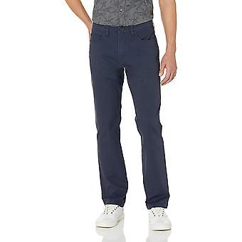 Goodthreads Men's Straight-Fit 5-Pocket Chino Pant, Navy, 32W x 32L