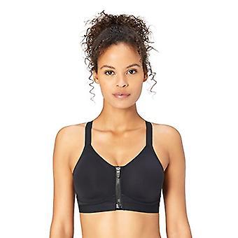 Merke - Core 10 Kvinner's Medium Support Cross Back Front-Zip Sports BH...