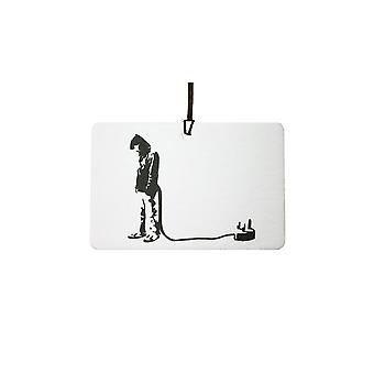 Banksy Man Plug Car Air Freshener