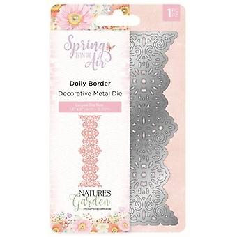Crafter's Companion Spring is in the Air Metal Die Doily Border