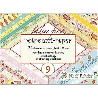 Marij Rahder Potpourri-Paper 09 Ladies First