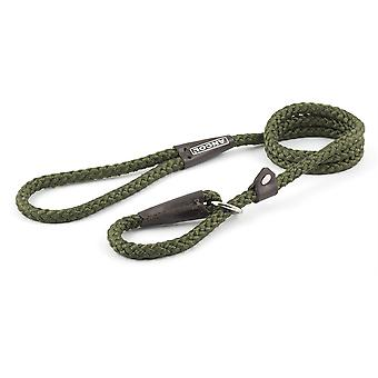 Ancol Nylon Rope Slip Lead - 48 inch - Green