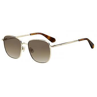 Sonnenbrille Damen  Kiyah  polarisierend gold/braun