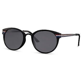 نظارات شمسية للجنسين القط البيضاوي. 3 أسود