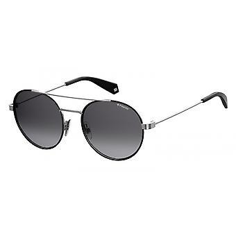 نظارات شمسية للجنسين 6056/S284/WJ التدرج الأسود / الرمادي