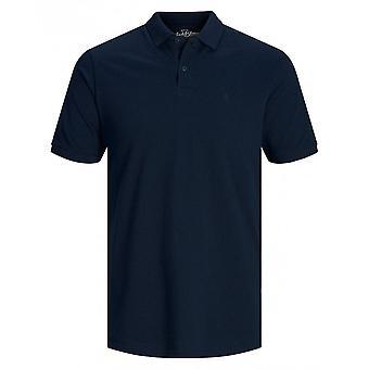 Stålar & Jones grundläggande Polo (marin)