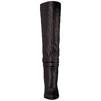 Vince Camuto Women's Shoes Kashiana Leather Closed Toe Over Knee Fashion Boots