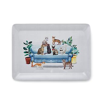 Cooksmart Curious Cats Large Tray