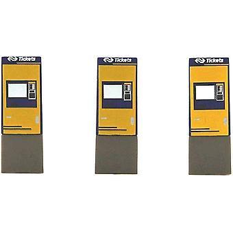 Rietze Automodelle - Fahrkartenautomat μηχανή εισιτηρίων μπλε / κίτρινο παιδικό παιχνιδιό