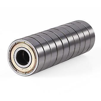 608zz مزدوجة محمية مصغرة عالية الكربون الصلب صف واحد 608zz Abec-7 العميق
