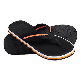 Superdry Tri Colour Flip Flops - Black