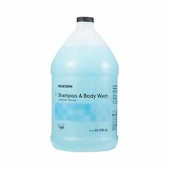 McKesson Shampoo and Body Wash, Summer Rain Scent 1 Gallon