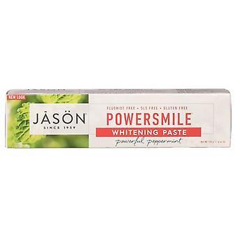 Jason Natural Products Toothpaste PowerSmile, Plus CoQ10 Gel 6 Oz