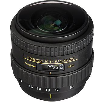 TOKINA AT-X 10-17MM F3.5-4.5 DX Fisheye (NH) - Nikon