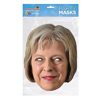 Mask-arade Theresa May Party Mask