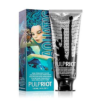 Pulp Riot Semi Permanent Cruelty-free & Vegan Hair Dye - Aquatic 118ml
