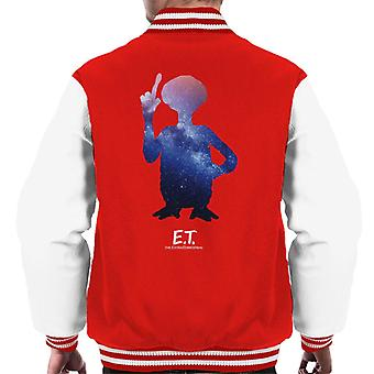 E.T. Galactic Silhouette Men's Varsity Jacket