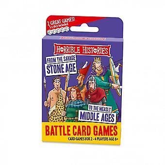 Hrozné histórie Stoneage kartová hra