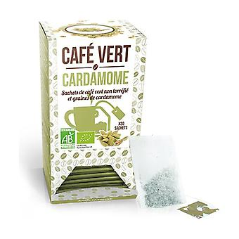 Green Coffee + Cardamom blend 20 units of 3g