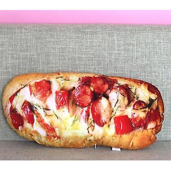 Simulation 3d-bread-pillow-butter Ham-sesame
