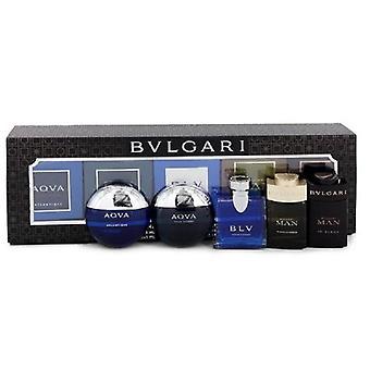Giftset Bvlgari The Men's Gift Collection 5x5ml