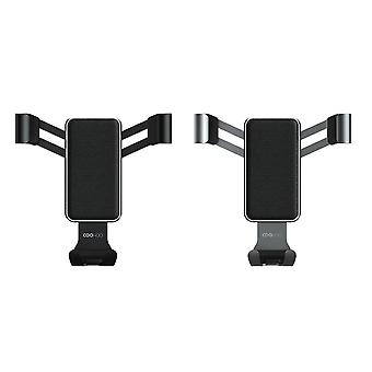 Car phone stand gravity sensor holder one-handed operation