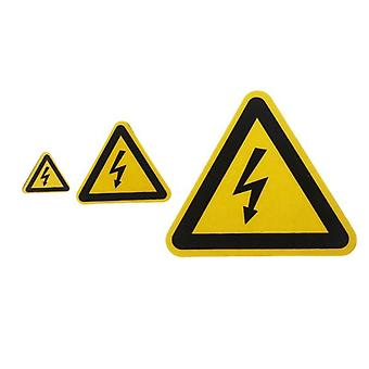 Adhesive Labels, Electrical Shock Hazard Danger Notice Safety Pvc Waterproof