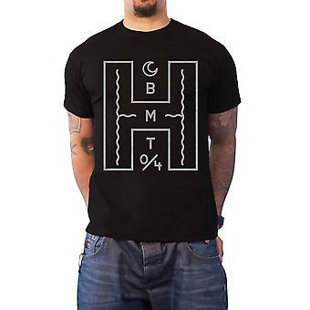 """جلب """"لي في الأفق رجالي تي القميص الأسود العملاق ح"""" الفرقة الشعار الرسمي"""